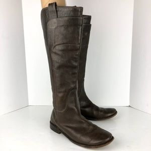 Frye | Tall Riding Boots Low Heel Size 7.5
